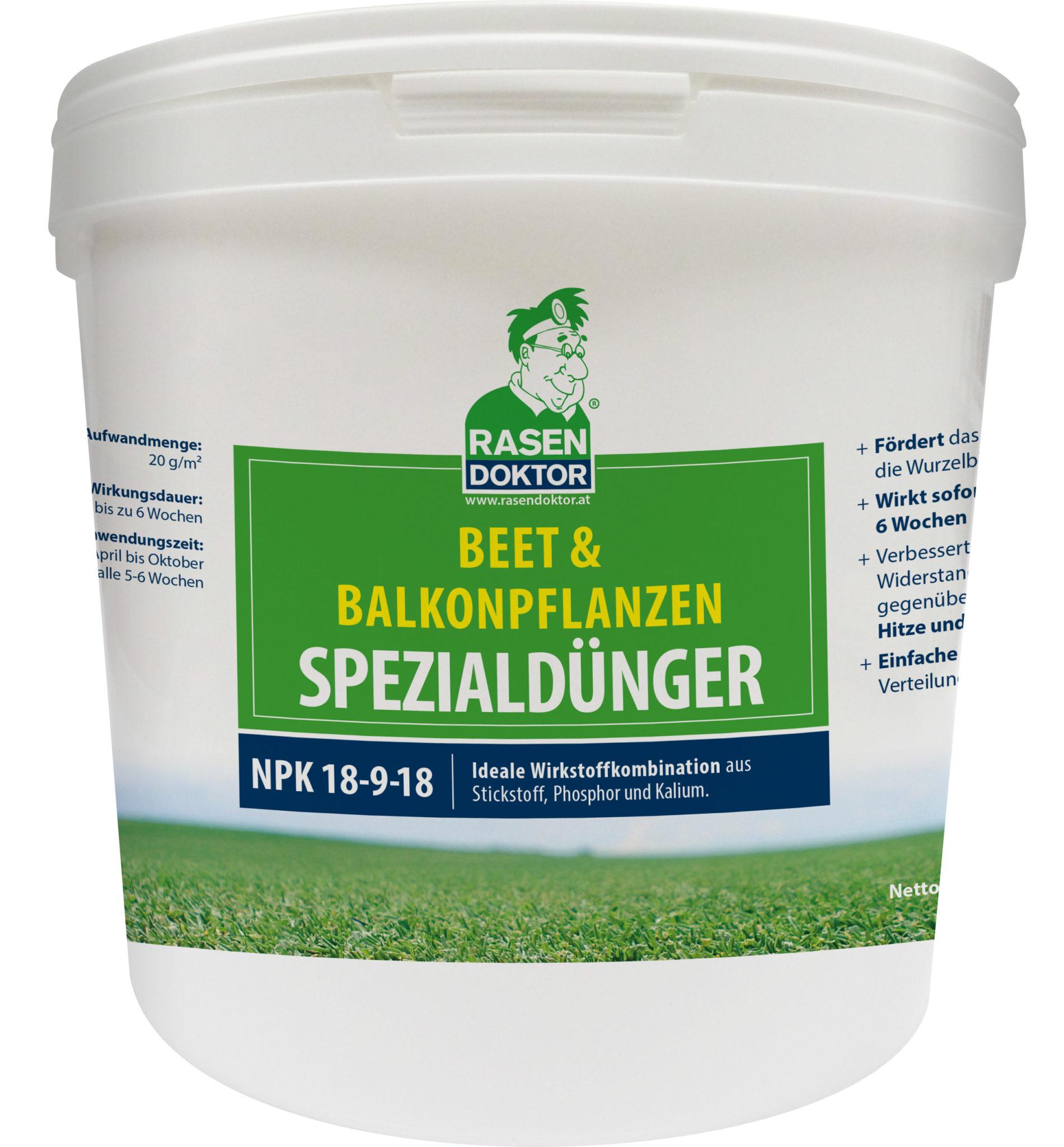 Berühmt Balkonblumen Dünger - Rasendoktor Dünger & Saatgut #ZH_69