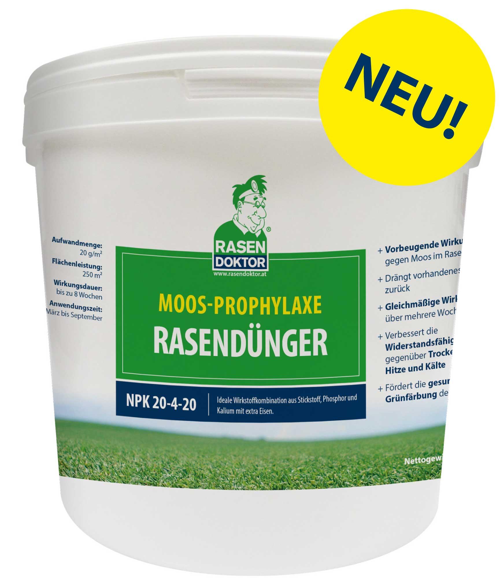 5kg Eimer Moos-Prophylaxe Rasendünger